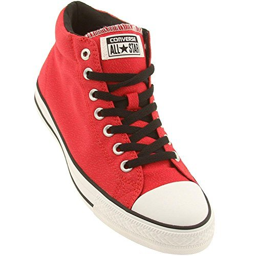 Converse Herren Man Sneaker Chuck Taylor All Star Gr. 40 (US7) red rot *** CT MID RED/BLACK/WH *** 141829C Canvas