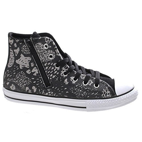 Converse Unisex Sneakers All Star Chuck Taylor Animal Zp, Zipper Gr. 37.5 (US5) *** 649968C *** schwarz black negro noir Hi Top
