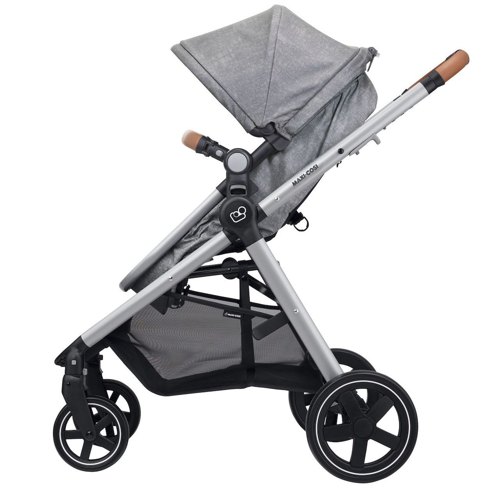 Zelia Max 5-in-1 Travel System - Nomad Grey