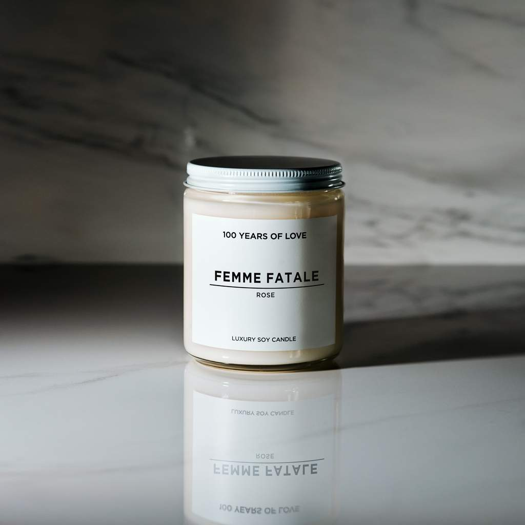 Luxury Soy Candle - Femme Fatale