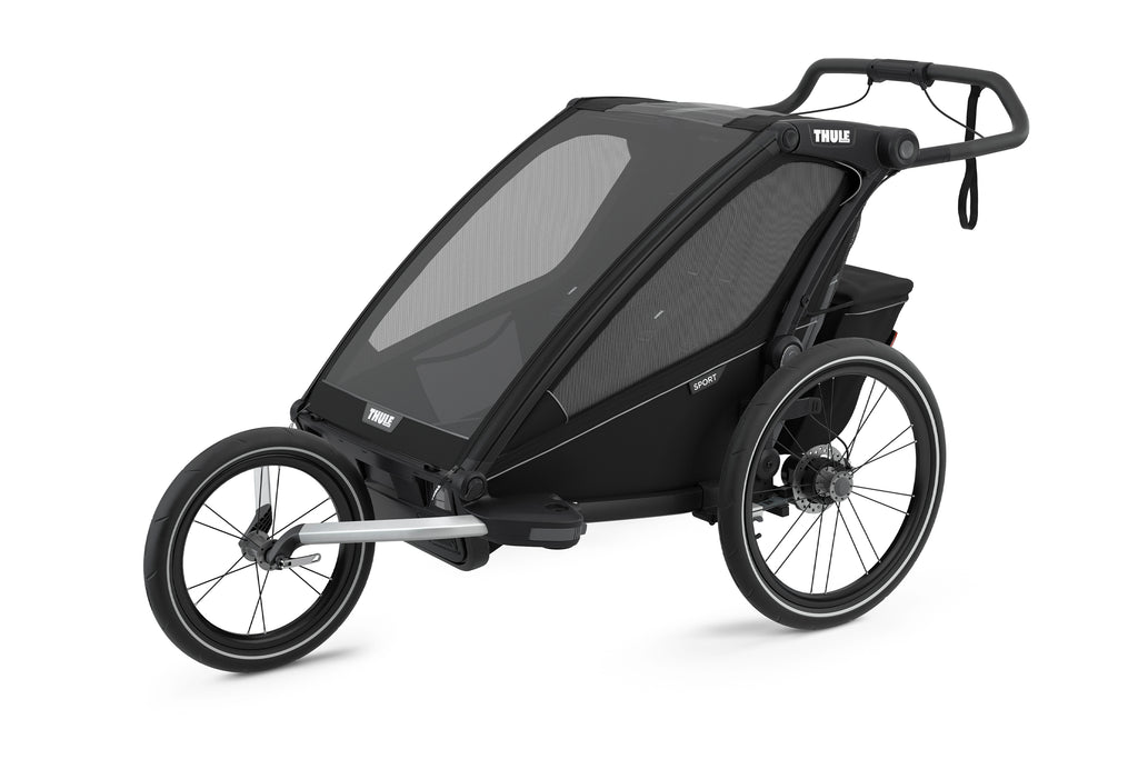 Chariot Sport 2 Multi-Sport Trailer (Double) - Black