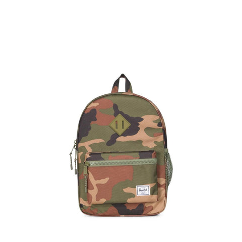 Heritage Youth Backpack - Woodland Camo