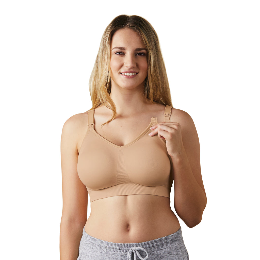 Body Silk Seamless Nursing Bra Full Cup - Butterscotch