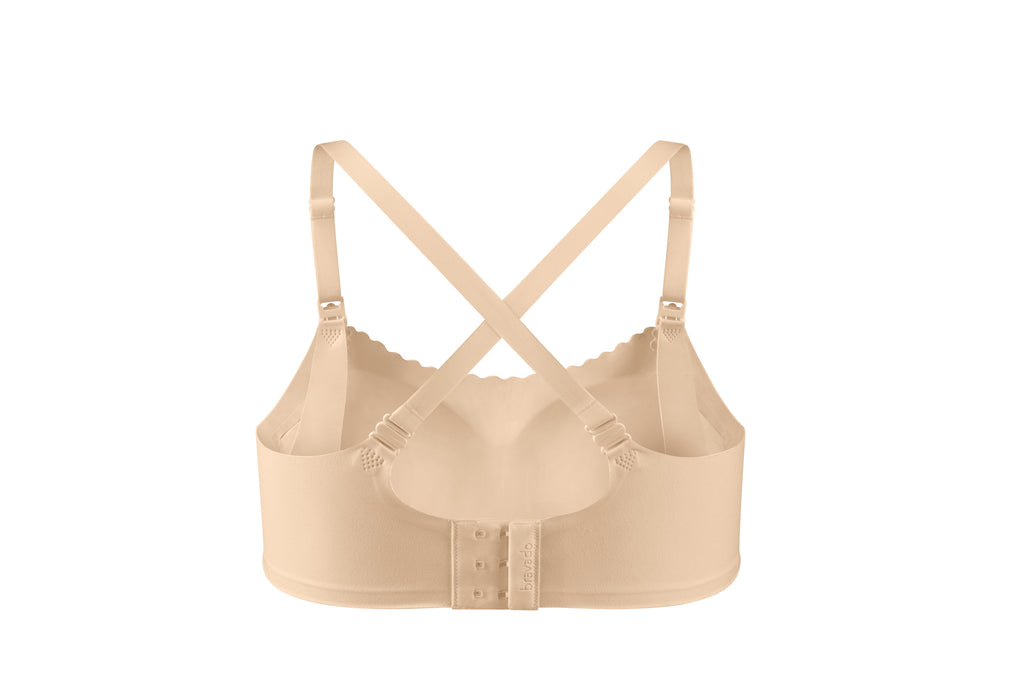 bravado invisible nursing bra bare
