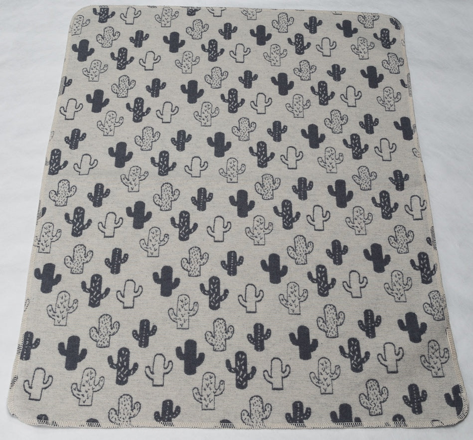 david fussenegger juwel blanket two tone cactus off white