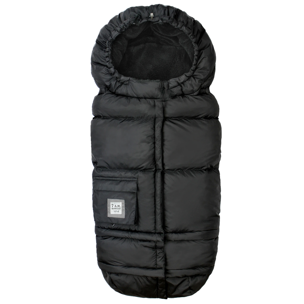 Blanket 212 EVOLUTION Foot Muff - Black Plush