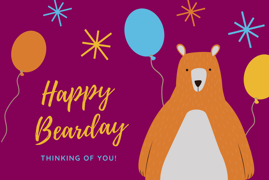Happy Bearday Gift Card (online use only)