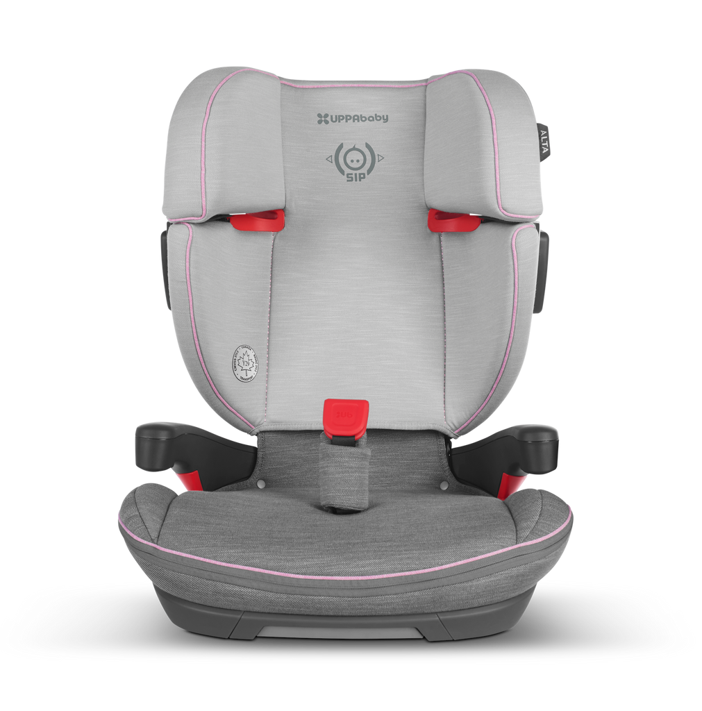 ALTA High Back Booster Seat - SASHA (Heather Grey/Light Grey)