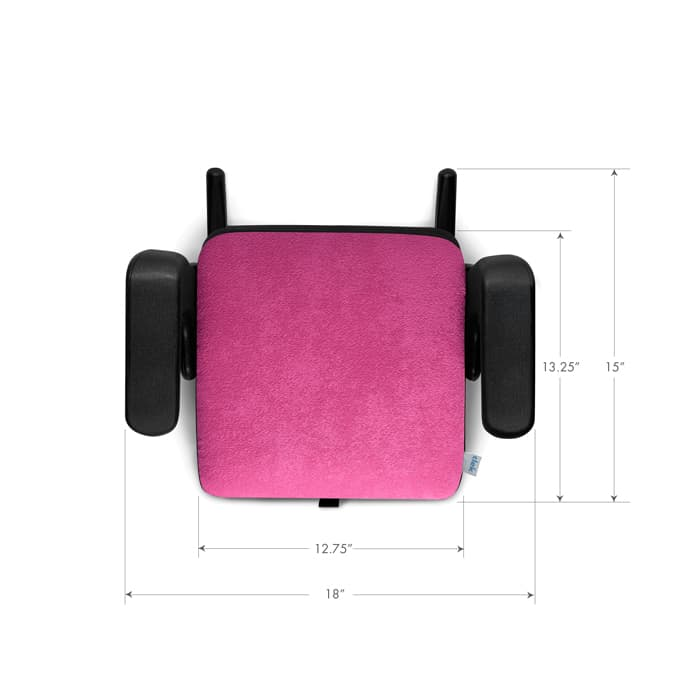 clek olli booster seat dimensions top