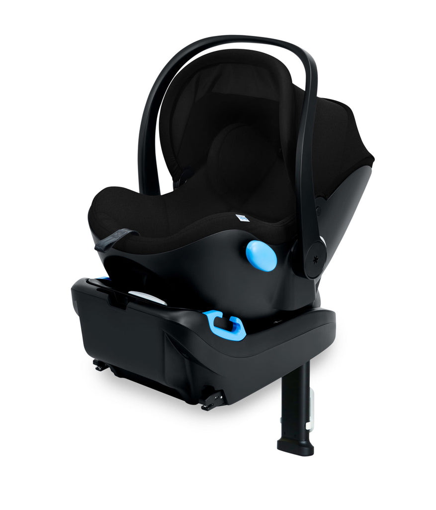 clek liing infant car seat pitch black