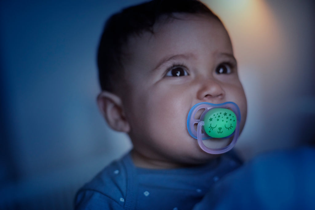 Ultra Air Nighttime Pacifier - 0-6 mo (2pk)