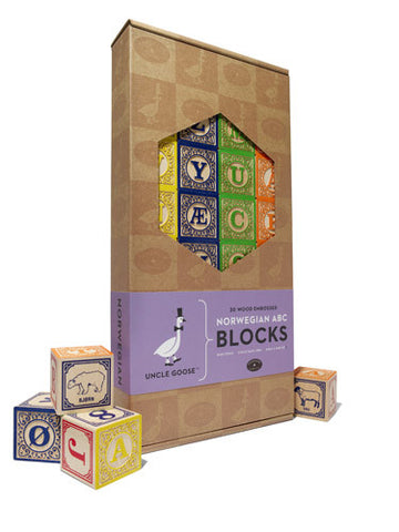ABC Blocks - Norwegian