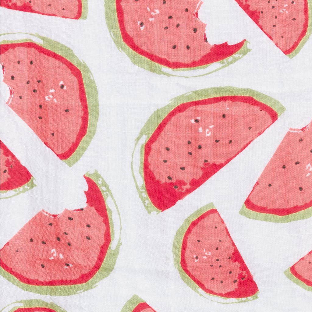 Cotton Muslin Sleep Bag (0.7 tog) - Watermelons