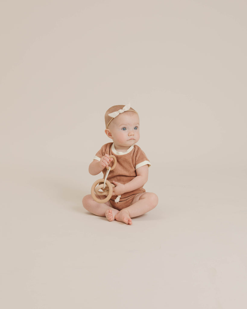 Retro Romper - Terracotta