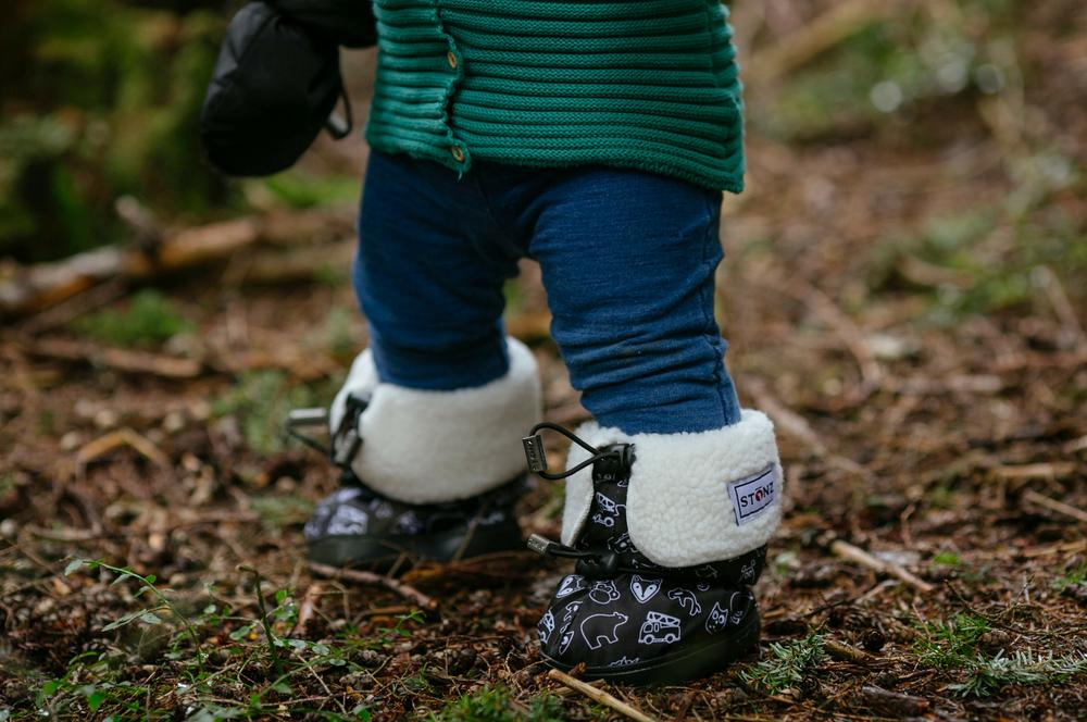 Toddler Winter Booties - Fun Animals