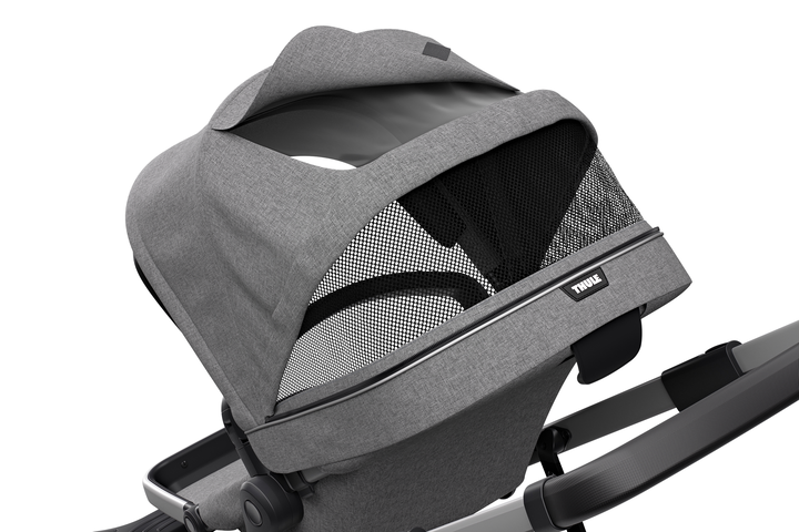 Sleek Stroller - Grey Melange
