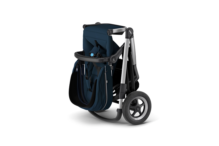 Sleek Stroller - Navy Blue