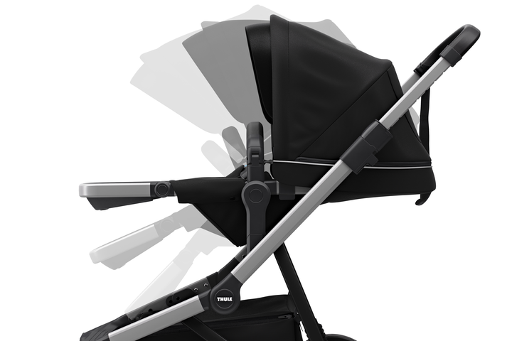 Sleek Stroller - Black