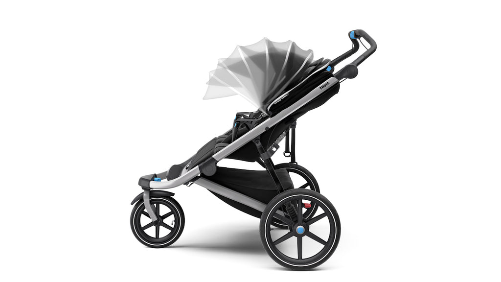 Urban Glide 2 All Terrain Stroller - Dark Shadow/Silver Frame