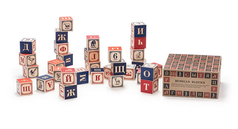 ABC Blocks - Russian