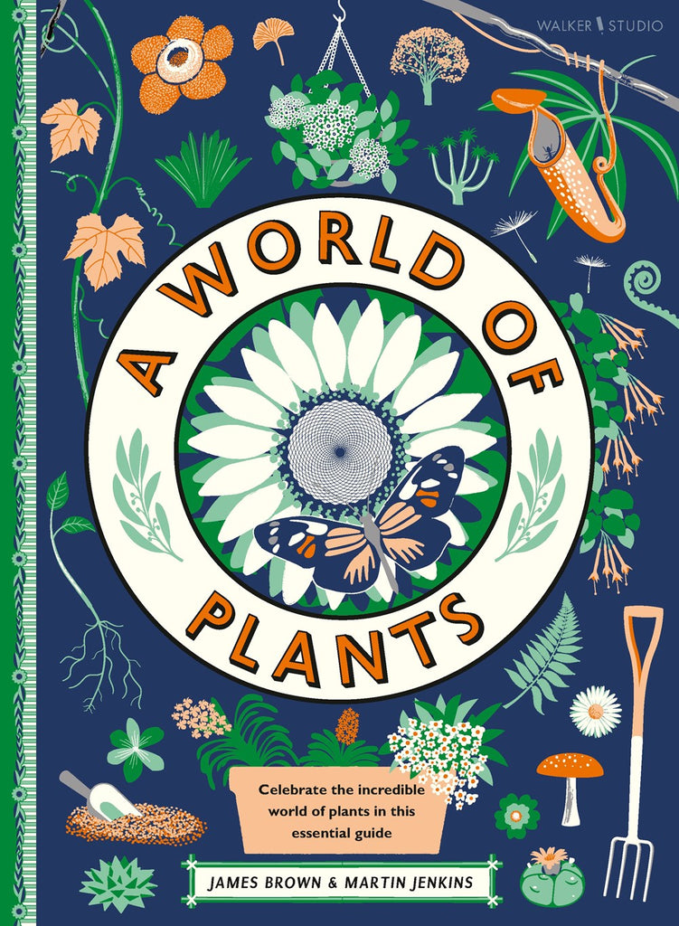 A World of Plants by Martin Jenkins & James Brown