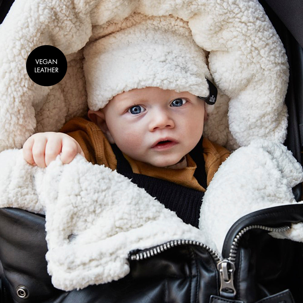 Stroller Footmuff - Aviator Black