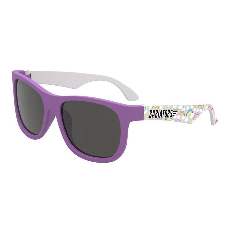 babiators limited edition navigator sunglasses over the rainbow