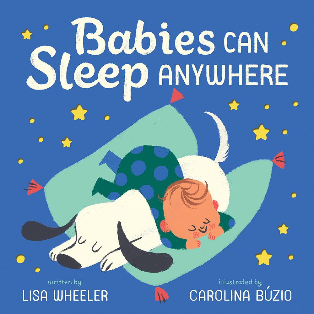 Babies Can Sleep Anywhere by Lisa Wheeler