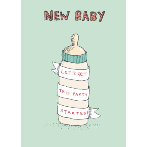 Baby Party Started (Poet & Painter)