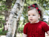 Knotted Headband - Canadiana (Buffalo Plaid)