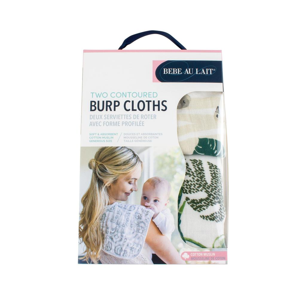 Classic Muslin Burp Cloths Set - Jungle + Rainforest