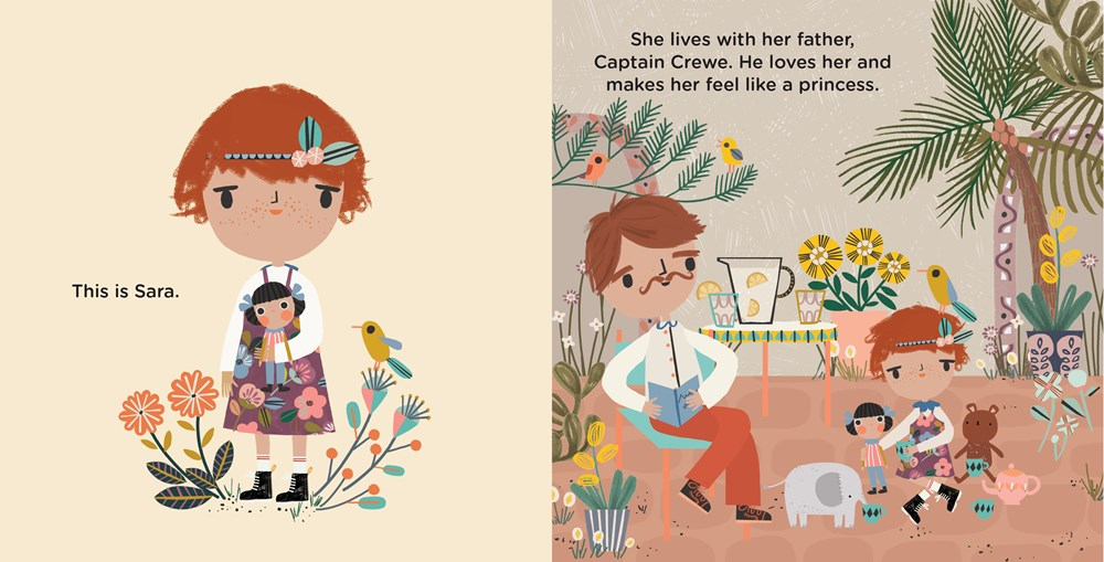 A Little Princess by Frances Hodgson Burnett & Carly Gledhill