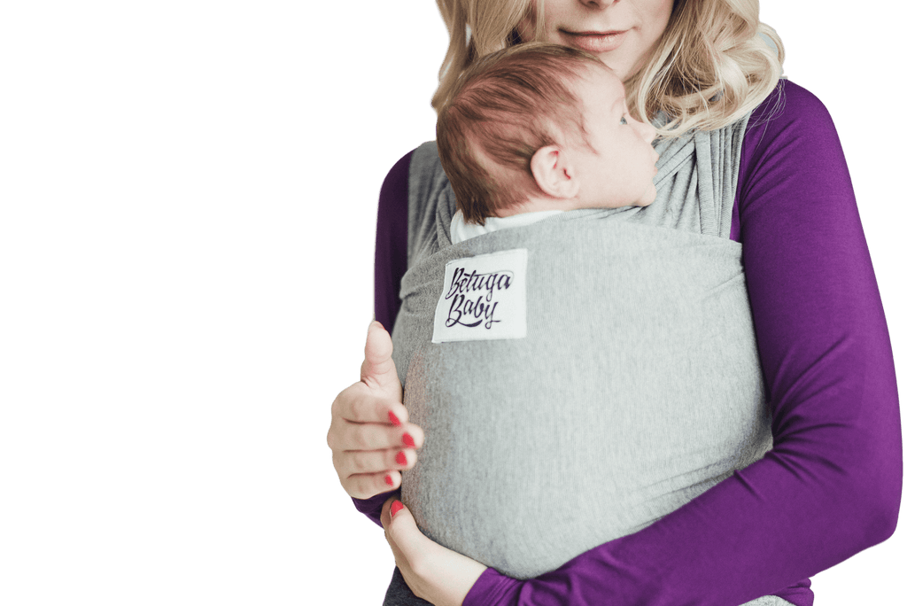 Baby Wrap Carrier - The McKenzie (Charcoal Grey Heather)