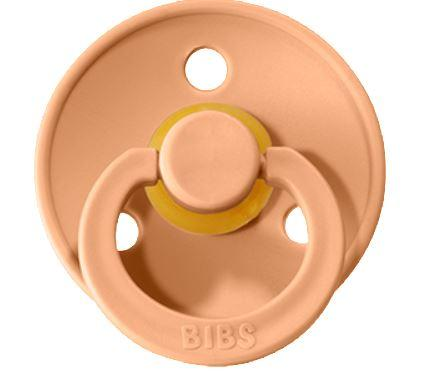 Natural Rubber Pacifier (2pk) - Peach Sunset