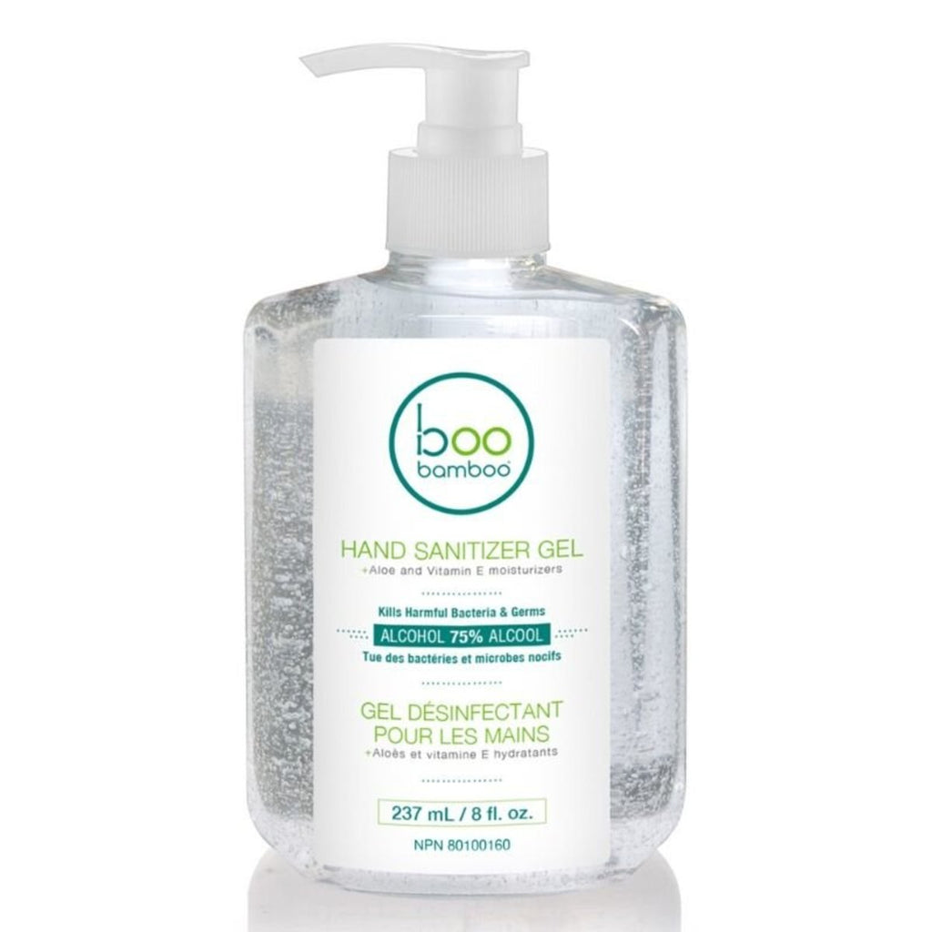 boo bamboo hand sanitizer gel with aloe and vitamin e