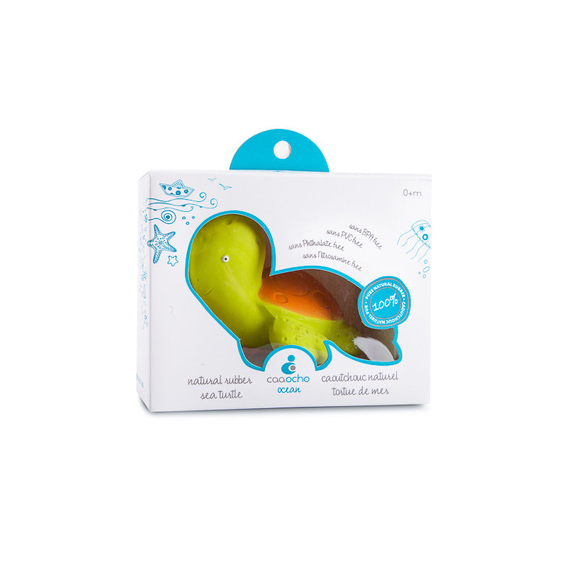 Natural Rubber Bath Toy - Mele the Sea Turtle