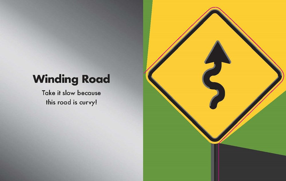 Caution! Road Signs Ahead: A Book of Road Signs by Toni Buzzeo