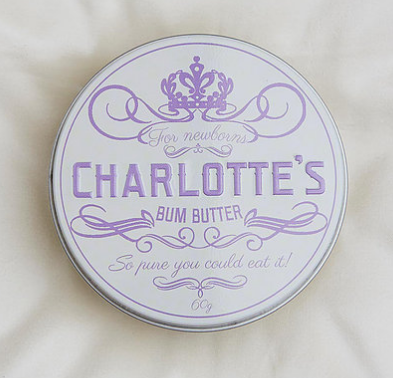 Charlotte's Bum Butter for Newborns (Sensitive Skin) - 60 g