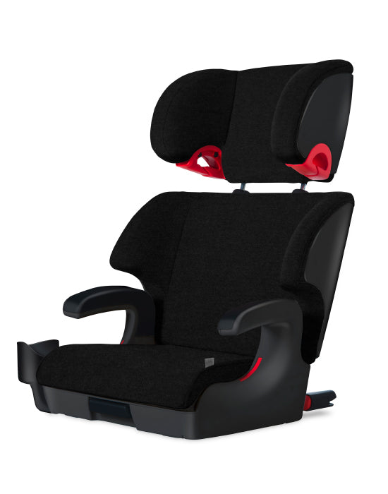 clek oobr high back booster seat carbon