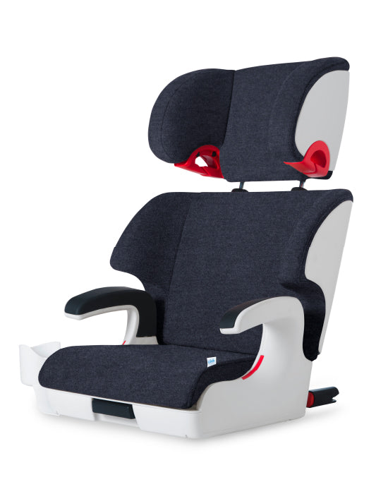 clek oobr high back booster seat full moon