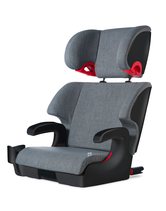 clek oobr high back booster seat  thunder