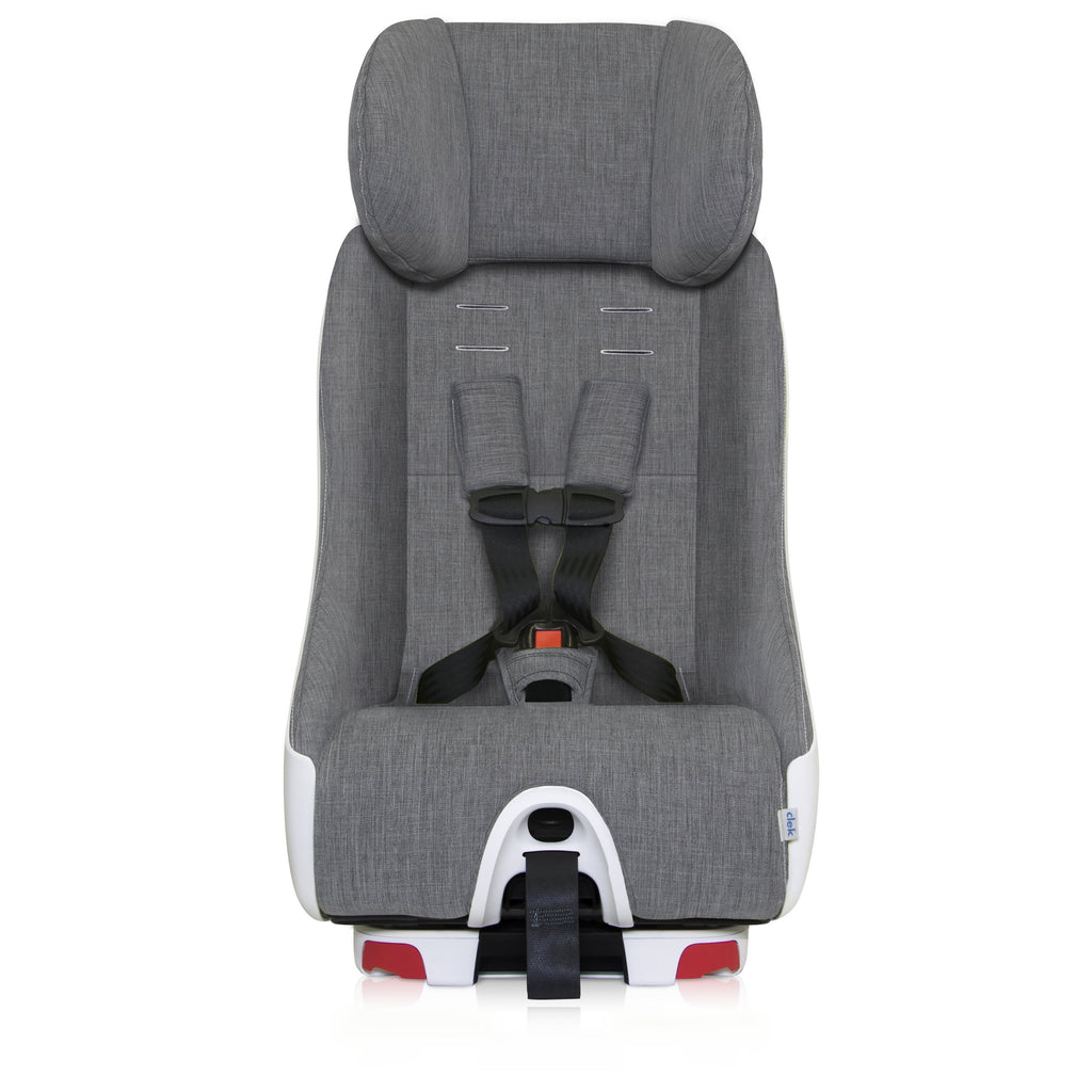 clek foonf convertible car seat head rest up