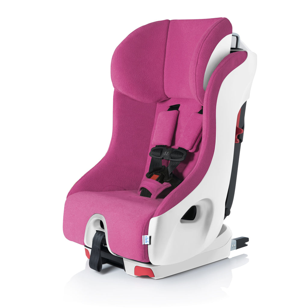 clek foonf convertible car seat snowberry