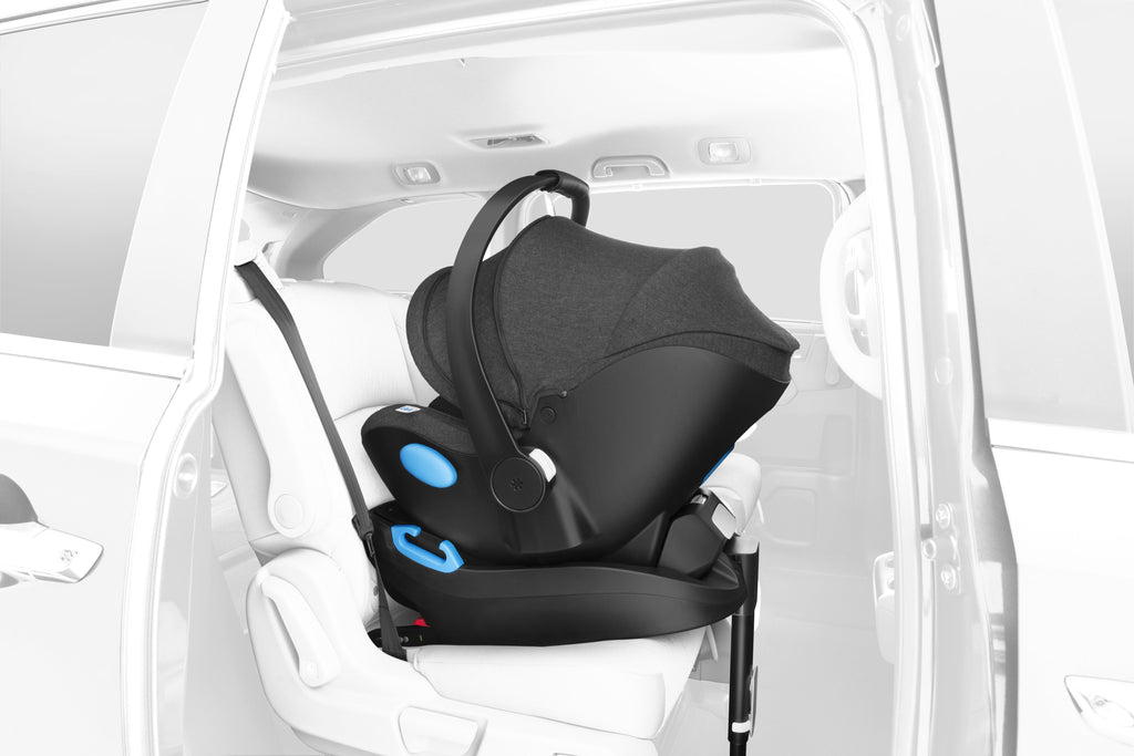 clek liing infant car seat rigid latch install