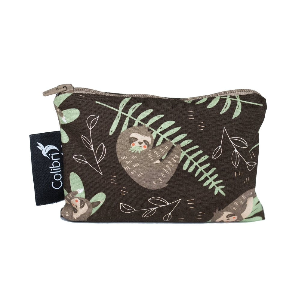 Reusable Snack Bag - Sloths