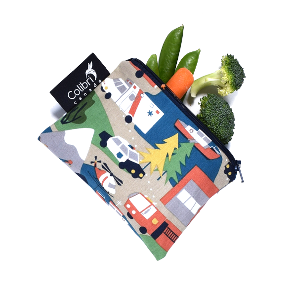 Reusable Snack Bag - Mountain Rescue