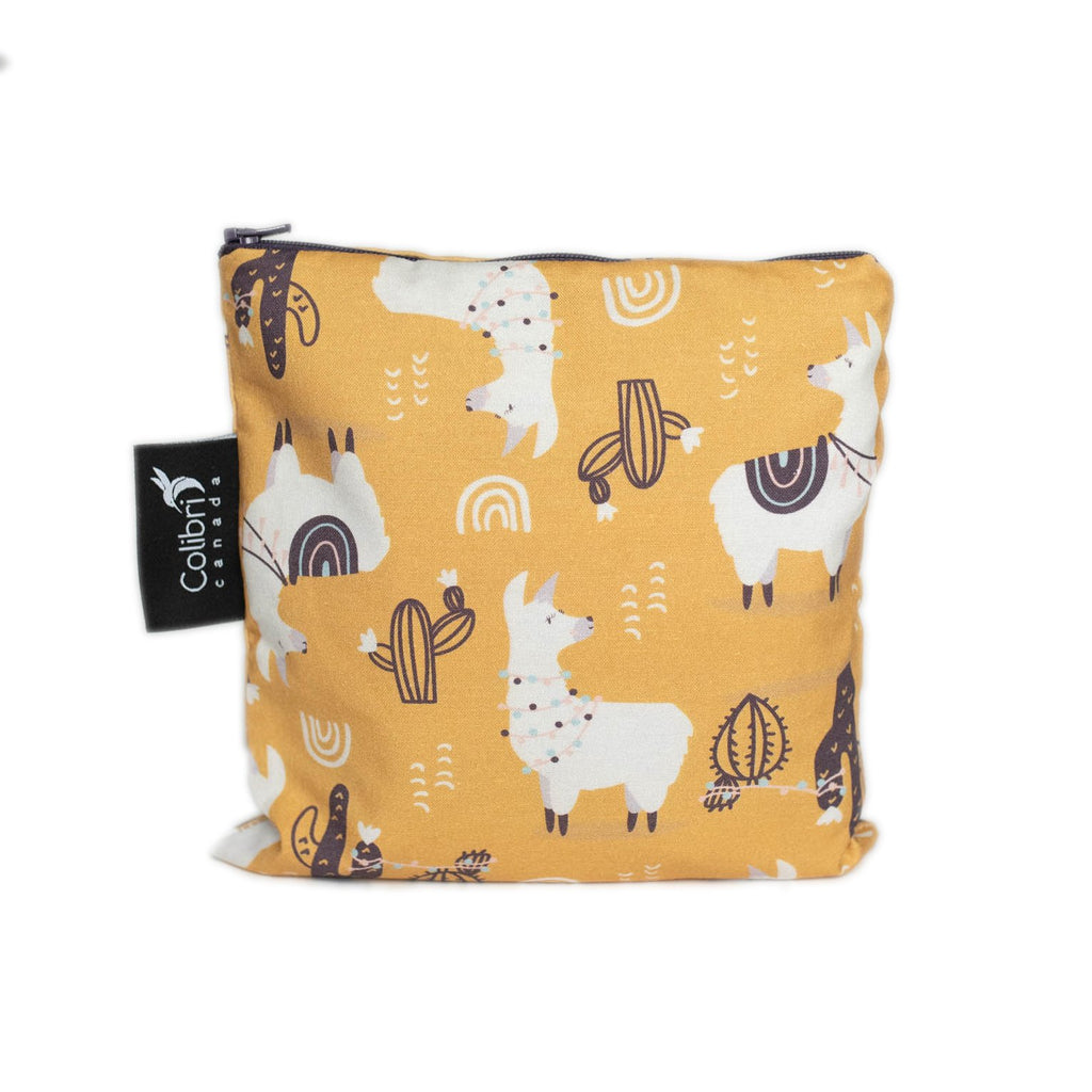 colibri reusable snack bag llamai large