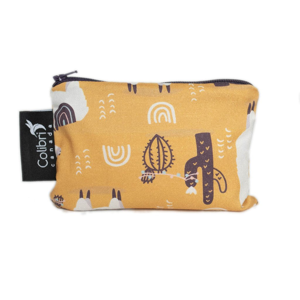 colibri reusable snack bag llama small
