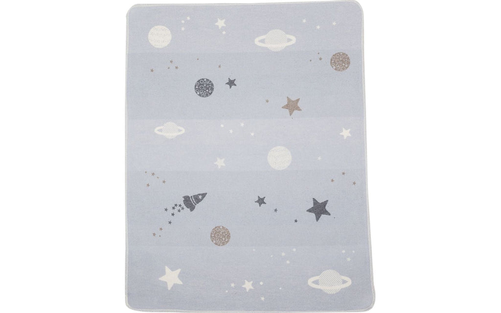david fussenegger juwel blanket planets all over light blue