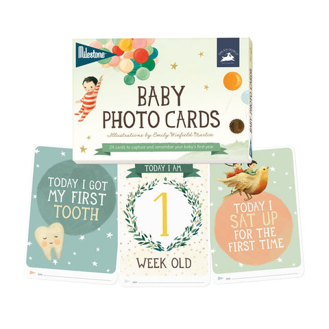 Baby Milestone Photo Cards - Emily Winfield Martin Edition